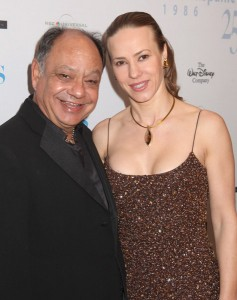 Cheech and Natasha Marin at the 14th Annuan NHMC Impact Awards